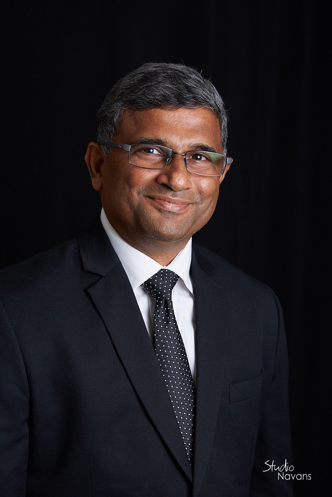 Business Portrait of Krishnan Naganathan by Studio Navans